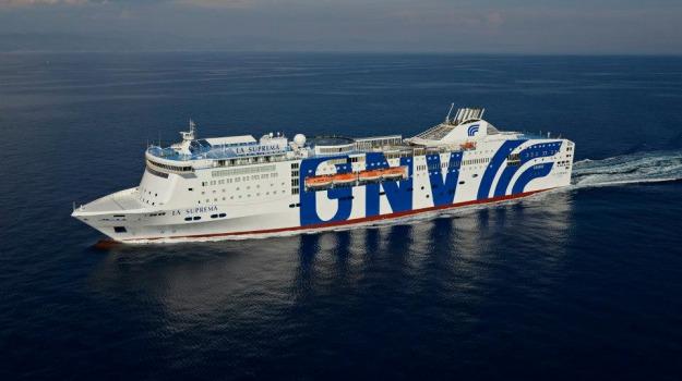 gnv, Grandi navi veloci, nave Civitavecchia Termini Imerese, Palermo, Economia