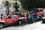 Tragico incendio a Palermo, le immagini da corso dei Mille - Video