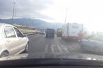 Capaci, scontro fra camper e auto sulla Palermo-Mazara - Video