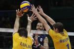 Il sogno dell'Italvolley si infrange contro il Brasile: è argento