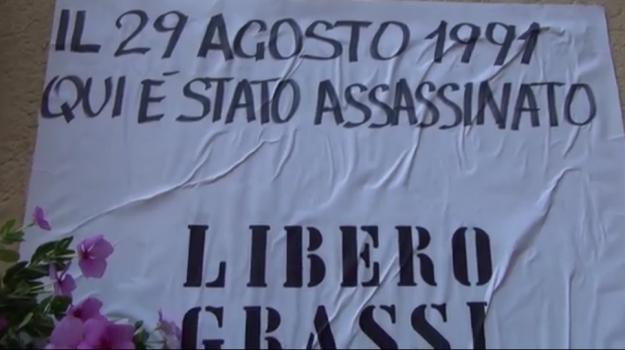 anniversario libero grassi, Libero Grassi, mario attinasi, Nino Tilotta, Palermo, Cronaca