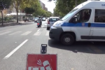 Incidenti stradali in viale Campania e piazza Giovanni Paolo II a Palermo, due feriti