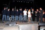 Incendi a Cefalù a giugno, premiati 6 agenti per il loro impegno