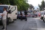Due anni fa l'assalto al portavalori: arrestati a Palermo. Le immagini dopo la rapina