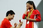 Dopo l'argento nei tuffi proposta di matrimonio per la cinese He - Video
