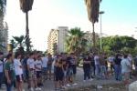 Palermo, i tifosi rosanero in piazza contro la gestione di Zamparini