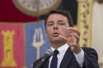 Renzi: al Sud non solo turismo ma anche investimenti e industria
