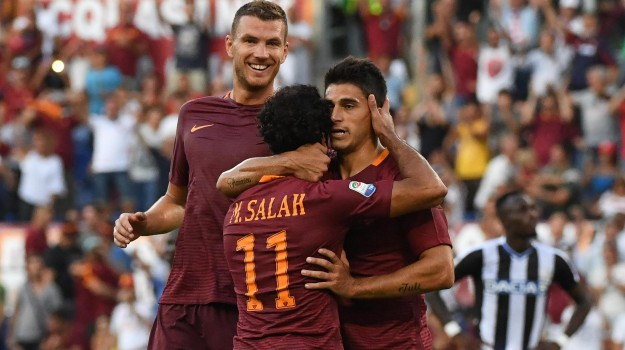 Calcio, roma, SERIE A, Udinese, Sicilia, Sport