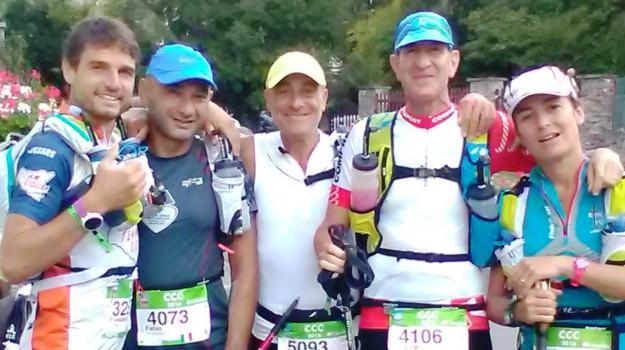 monte bianco, team sicilia, ultra trail, Palermo, Sport