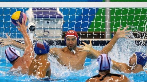 bronzo, olimpiadi, pallanuoto, settebello, Sicilia, Sport