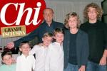 """Berlusconi festeggia i suoi 80 anni in copertina con i nipoti: """"Oggi voglio stare con la mia famiglia"""""""