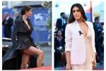 Bianca Balti e Valentina Lodovini, look audaci accendono il red carpet