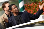 Festival di Venezia, Denzel Washington sbarca al Lido: tutte le foto