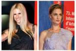 Al Lido Michelle Hunziker e la palermitana Eva Riccobono: look a confronto
