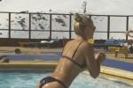 """Allenamento in piscina per Lindsey Vonn, il video da oltre 400mila """"like"""""""