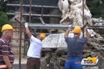 Genio di Villa Giulia, via al restauro della statua