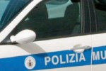 Incidente in via Roma, tre feriti in uno scontro