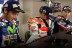 Valentino Rossi, Marc Marquez e Jorge Lorenzo