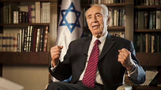 ictus, Israele, Shimon Peres, Sicilia, Mondo