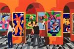 In mostra a Catania 170 opere del pittore Ugo Nespolo