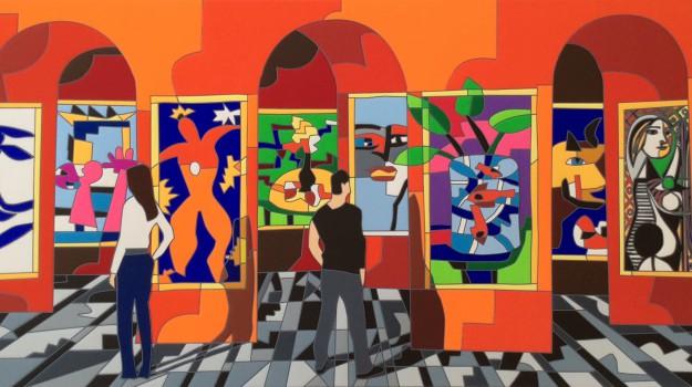 arte, mostra, Ugo Nespolo, Catania, Cultura