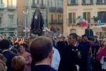Inedita processione dell'Addolorata a Caltanissetta: 200 i fedeli presenti