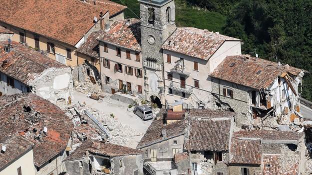 arquata, sisma, terremoto, Sicilia, Cronaca