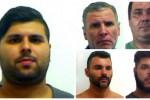 L'omicidio di Cruillas, le foto dei cinque arrestati