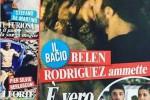 """Belen, 32 anni e un nuovo amore: su """"Chi"""" il bacio con Iannone"""