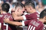 Frena l'Inter, crolla la Roma a Torino: mini fuga per Juve e Napoli