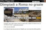 Olimpiadi a Roma, stop di Grillo: alta tensione con il sindaco Raggi