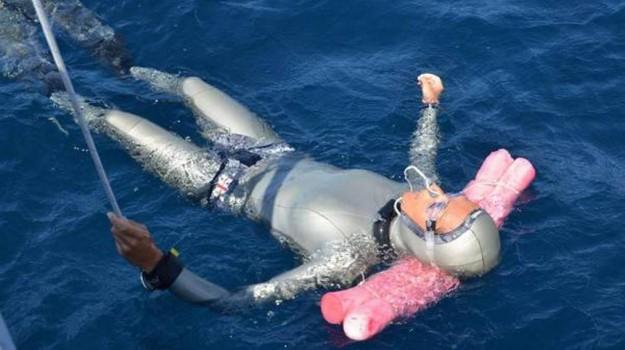 immersione, record, ustica, Palermo, Sport