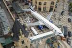 Ex aereo trasformato in ristorante: foto del Boeing 737 in Cina