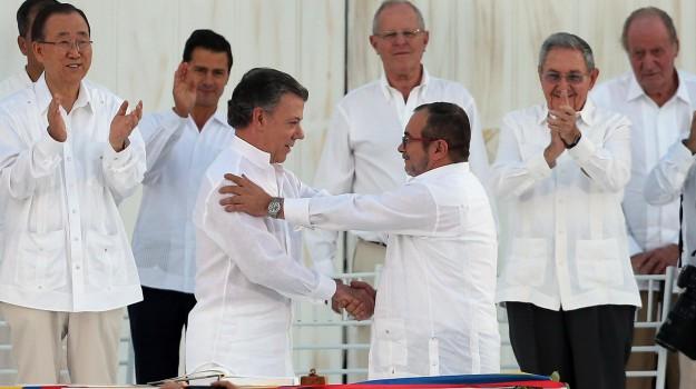 colombia, Farc, pace, Sicilia, Mondo