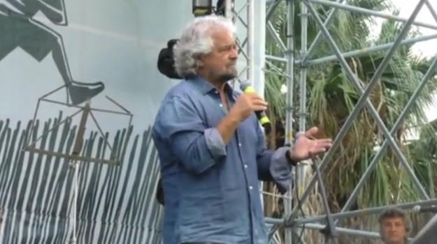 candidato presidente regione, m5s, regione, Beppe Grillo, Sicilia, Politica