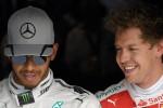 A Monza Hamilton in pole, la Ferrari di Vettel parte terza