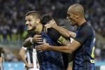 Impresa dell'Inter contro la Juve Icardi-Perisic in rimonta: è 2 a 1