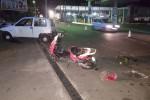 Palermo, scontro auto-scooter in via Messina Marine: un ferito grave - Video