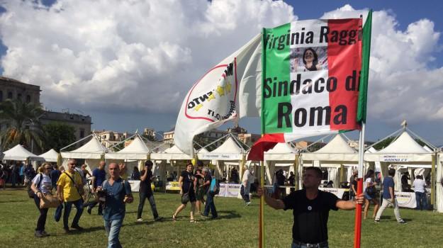 foro italico palermo, Italia 5 stelle, Virginia Raggi, Sicilia, Politica