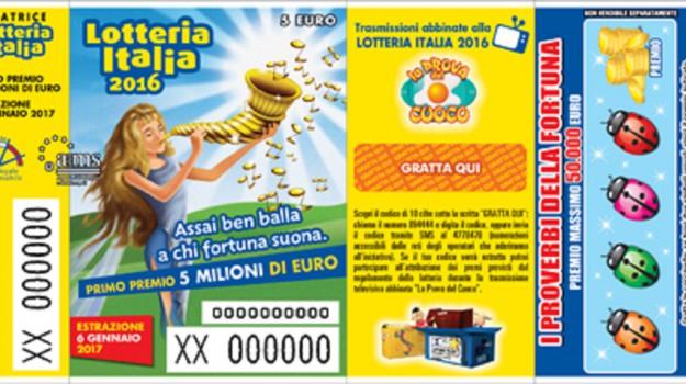 lotteria italia 2016, Sicilia, Cronaca