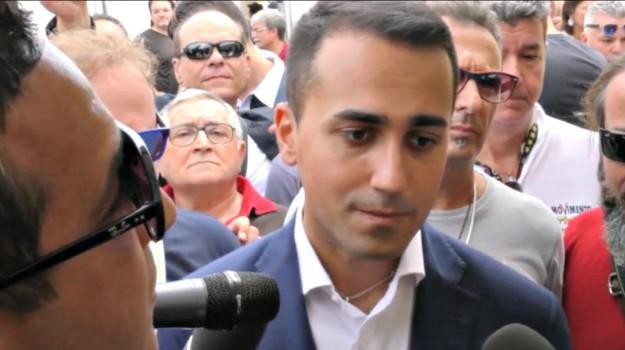 m5s saponara, Luigi Di Maio, Messina, Politica