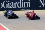 Aragon, Marquez vince e vede il mondiale: solo terzo Rossi