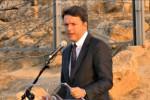 Renzi sabato a Palermo: inaugurerà il nuovo anno accademico