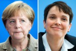 Batosta per la Merkel: il suo partito superato dalla destra anti-migranti