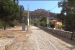 La strada che porta al Santuario di Monte Pellegrino, Palermo