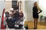 Colpo di fulmine nel traffico di Londra per Britney Spears - Video