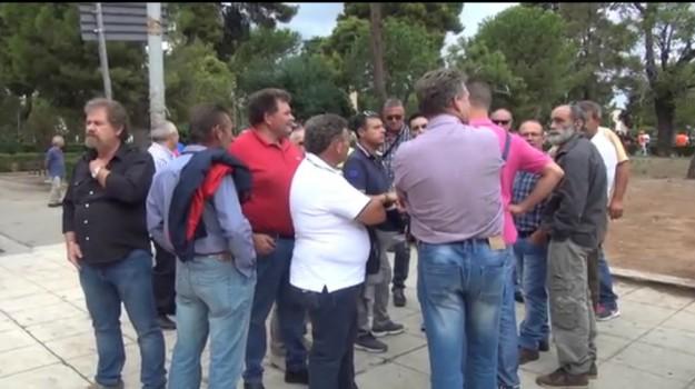 forestali, Palermo, sciopero, Palermo, Cronaca