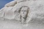 Punta Bianca, Mareamico: una taglia su chi ha inciso il volto