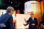 """Renzi sigla il """"Patto della lavagna"""": 14esime raddoppiate sulle minime"""