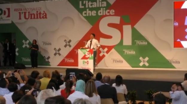festa dell'unità, pd, Sicilia, La politica di Renzi, Politica